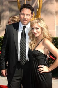 Greg Grunberg and Kristen Bell at the 2007 Creative Arts Emmy Awards.