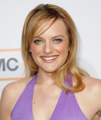 Elisabeth Moss at the premiere of