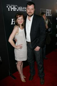 Elisabeth Moss and Michael Gladis at the Hollywood Life magazine's 10th Annual Young Hollywood Awards.