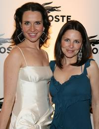 Molly Parker and Costume Designer Katherine Jane Bryant at the 9th Annual Costume Designers Guild Awards.