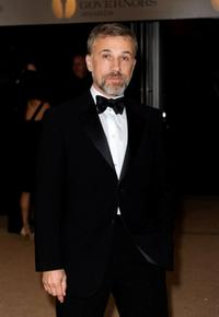 Christoph Waltz at the Academy of Motion Picture Arts and Sciences Inaugural Governors Awards.