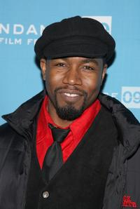 Michael Jai White at the premiere of
