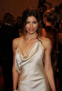 Jessica Biel at the Costume Institute Gala Benefit to celebrate the opening of