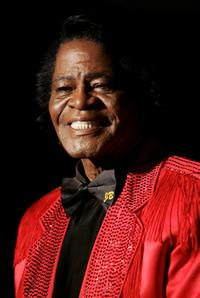 James Brown at the Live 8 Edinburgh concert.