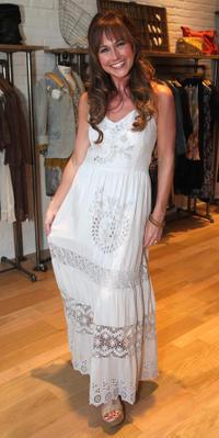 Nikki DeLoach at the Johnny was Celebrates Fashion's Night Out in California.