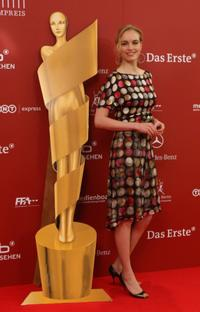 Nina Hoss at the reception for the nominees of the Deutscher Filmpreis.
