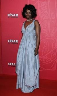 Aissa Maiga at the Cesar Film Awards 2009.