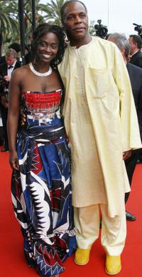 Aissa Maiga and Dany Glover at the premiere of