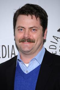 Nick Offerman at the presentation of