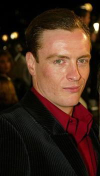 Toby Stephens at the premiere of