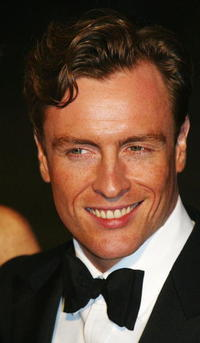 Toby Stephens at the world premiere of