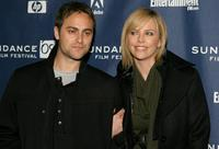 Stuart Townsend and Charlize Theron at the premiere of