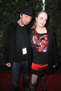 Frank Miller and Kimberly Cox at the Spike TV's 2008 Scream Awards.