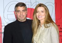 Natascha McElhone and George Clooney at the Berlinale Film Festival.