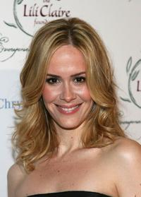 Sarah Paulson at the 9th Annual Dinner Benefiting the Lili Claire Foundation.