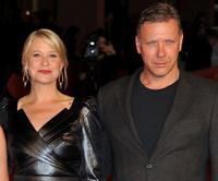Trine Dyrholm and Mikael Persbrandt at the premiere of