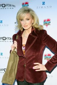 Morgan Fairchild at the Love Equals writing contest.