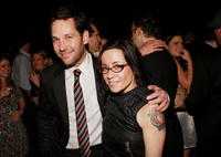 Actors Paul Rudd and Janeane Garofalo at the after party of the N.Y. premiere of