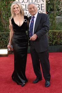 Peter Falk and his wife Shera Danese at the Golden Globe Awards.