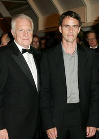 Andre Dussollier and Laurent Lucas at the 58th International Cannes Film Festival opening night gala.