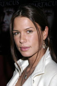 Rhona Mitra at the L.A. Premiere of USA Network's Epic Miniseries