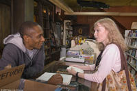 Mos Def and Mia Farrow in