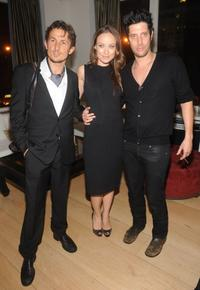 Tao Ruspoli, Olivia Wilde and Shawn Andrews at the after party of the New York premiere of