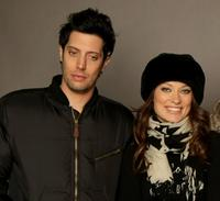 Shawn Andrews and Olivia Wilde at the 2008 Sundance Film Festival.