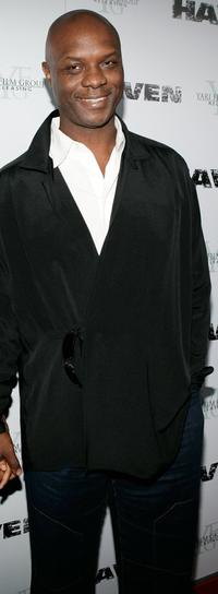 Robert Wisdom at the Los Angeles premiere of