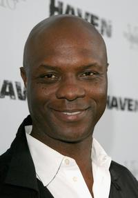 Robert Wisdom at the premiere of