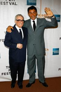 Director Martin Scorsese and Vincenzo Amato at the premiere of
