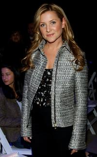 Jessica Capshaw at the Tuleh Fall 2005 fashion show during the Olympus Fashion week.