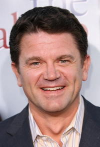 John Michael Higgins at the L.A. premiere of