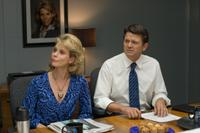 Cheryl Hines and John Michael Higgins in