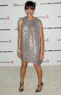 Rashida Jones at the 17th Annual Elton John AIDS Foundation's Academy Award Viewing Party.