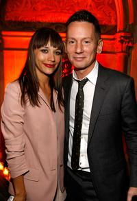 Rashida Jones and Jim Nelson at the GQ Men of the Year party.