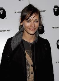 Rashida Jones at the store opening of