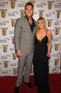 Owain Yeoman and Lucy Davis at the BAFTA/LA's Inaugural British Comedy Awards.