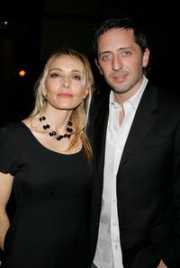 Jeanne Mas and Gad Elmaleh at the 10th annual City Of Lights, City Of Angels French Film Festival.