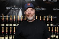 J.K. Simmons at the Moet & Chandon suite.