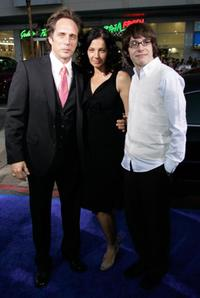William Fichtner and his family at the premiere of