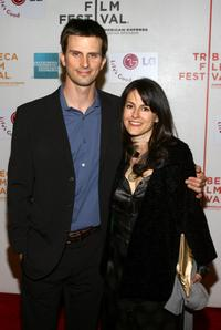 Frederick Weller and Ali Marsh at the premiere of