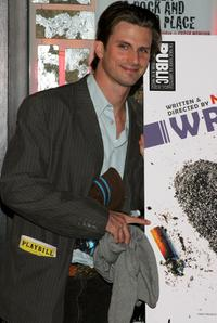 Frederick Weller at the after party of the opening night of