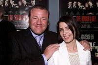 Ray Winstone and actress Sadie Frost at the London premiere of