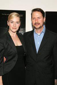Todd Field and Kate Winslet at the screening of