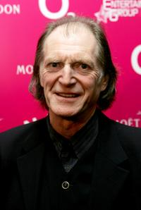 David Bradley at the National Theatre: Fast Forward reception.