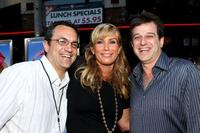 Jack Giarraputo, Heather Parry and Allen Covert at the premiere of