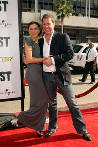 Anna Friel and Chris Henchy at the California premiere of