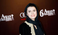 Leila Hatami at the red carpet of 6th Asian Film Awards in China.