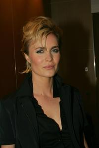 Radha Mitchell at the cocktail party for the screening of